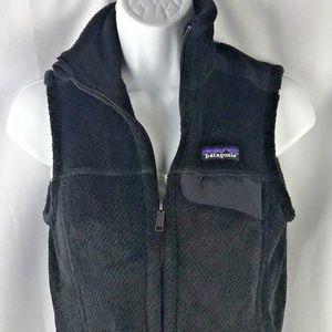 Patagonia Polartec Fleece Vest Black Size XS